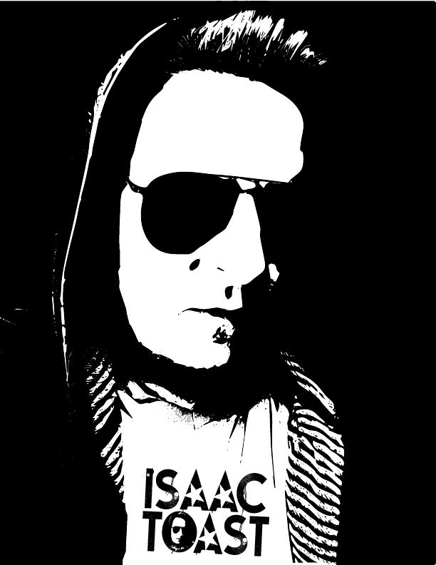 Isac Toast xerox headshot